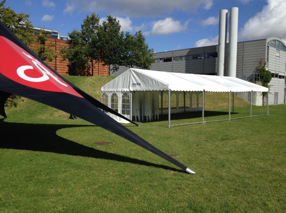Partytelt til SDU Odense